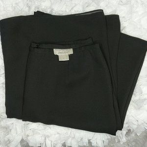 Lord and Taylor High-Waisted Dress Pant Black 12